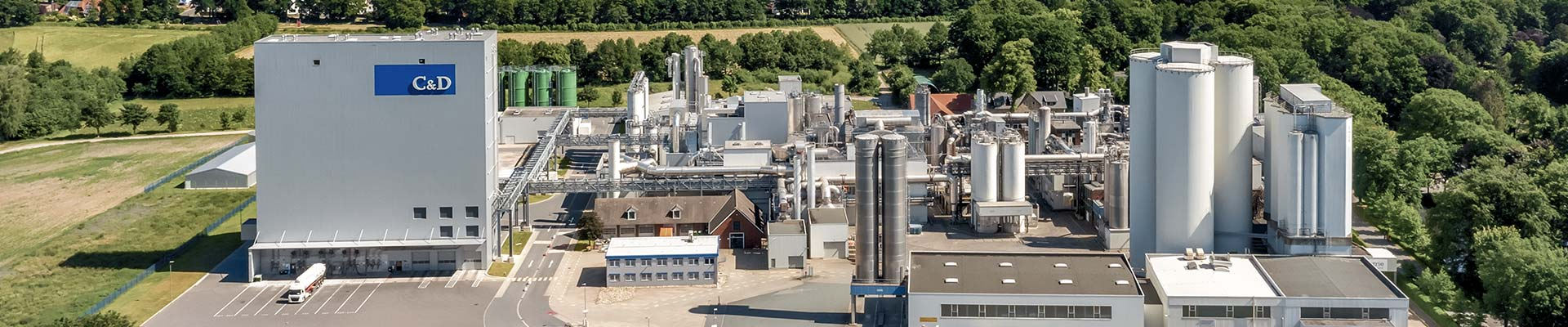 The headquarters of the Crespel & Deiters Group in Germany is where the production of wheat starches and wheat proteins takes place, as well as the production of the highly functional products of the brands   Crespel & Deiters