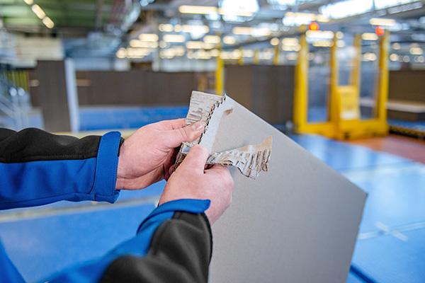 C&D Corrugating & Paper - Permanten Prozesskontrolle gewährleistet hohe Produktqualität.