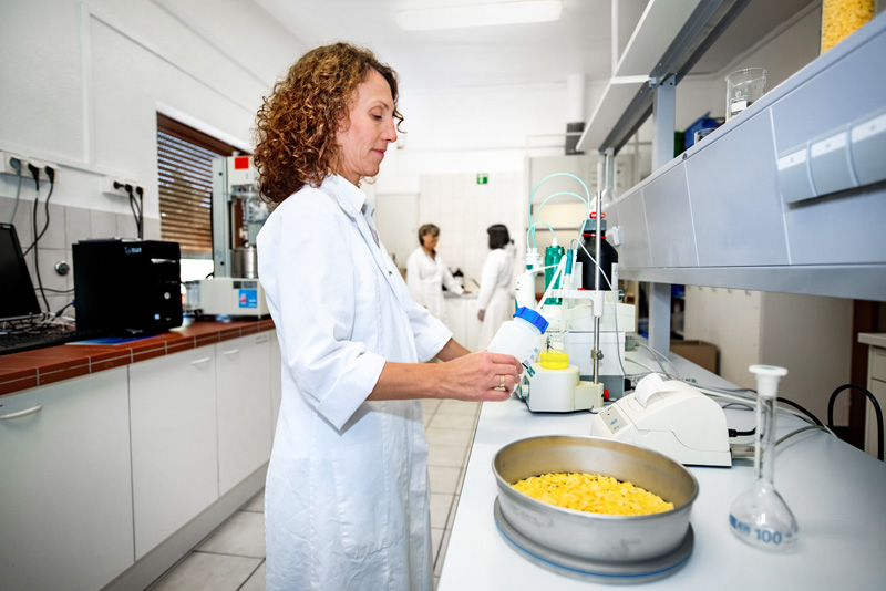 Alt: Food ingredients producer Loryma refines wheat-based raw materials for the food industry
