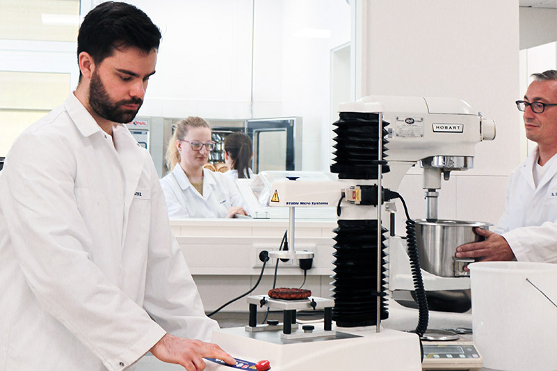 Food ingredients producer Loryma develops its pioneering solutions for the food industry in the own in-house development and research food laboratory