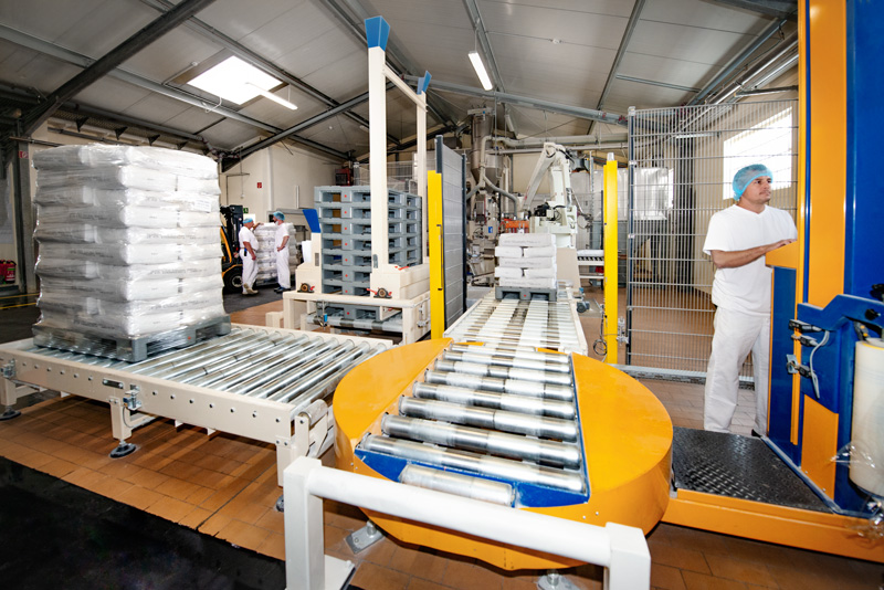 Production of wheat-based food ingredients by the producer Loryma