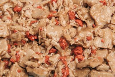 Weizenbasierte Mischungen für pet food von Trigea